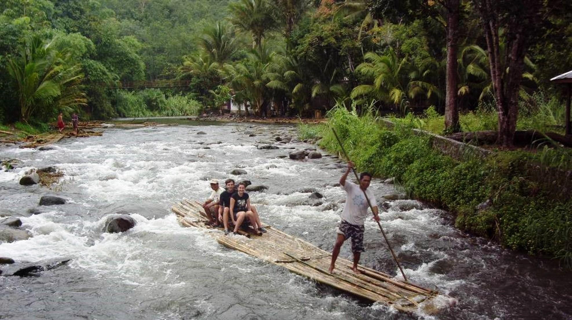 Loksado bamboo raft