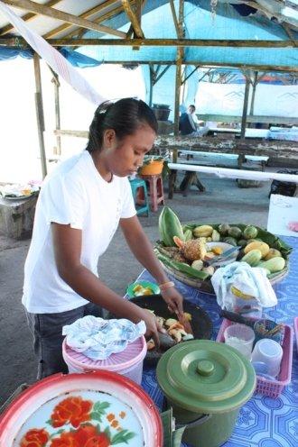 Rujak op Natsepa - Ambon