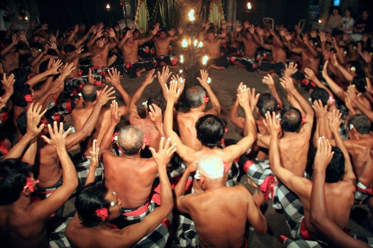 Kecak - apendans op Bali