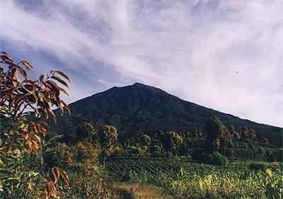 kernici vulkaan