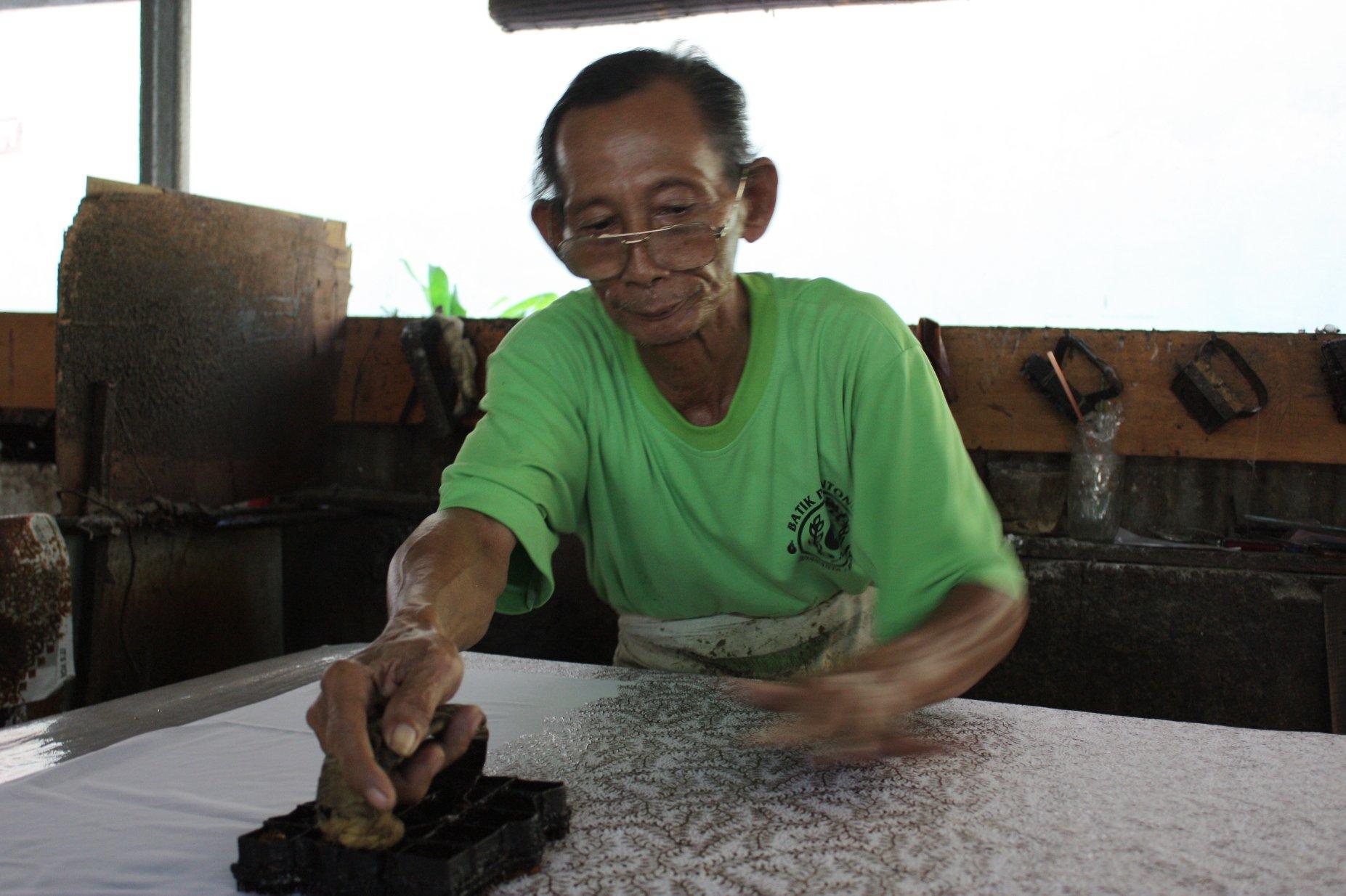 Yogya batik stempel