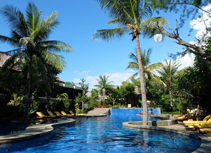 Aston Sunset Beach Resort Gili Trawangan Accommodatie