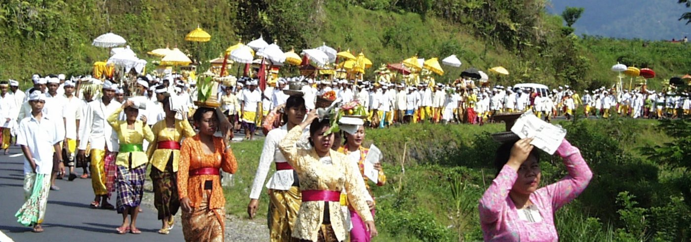 Bali Processie