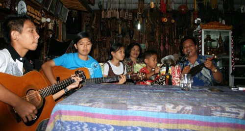 Samosir - Batak vocal group