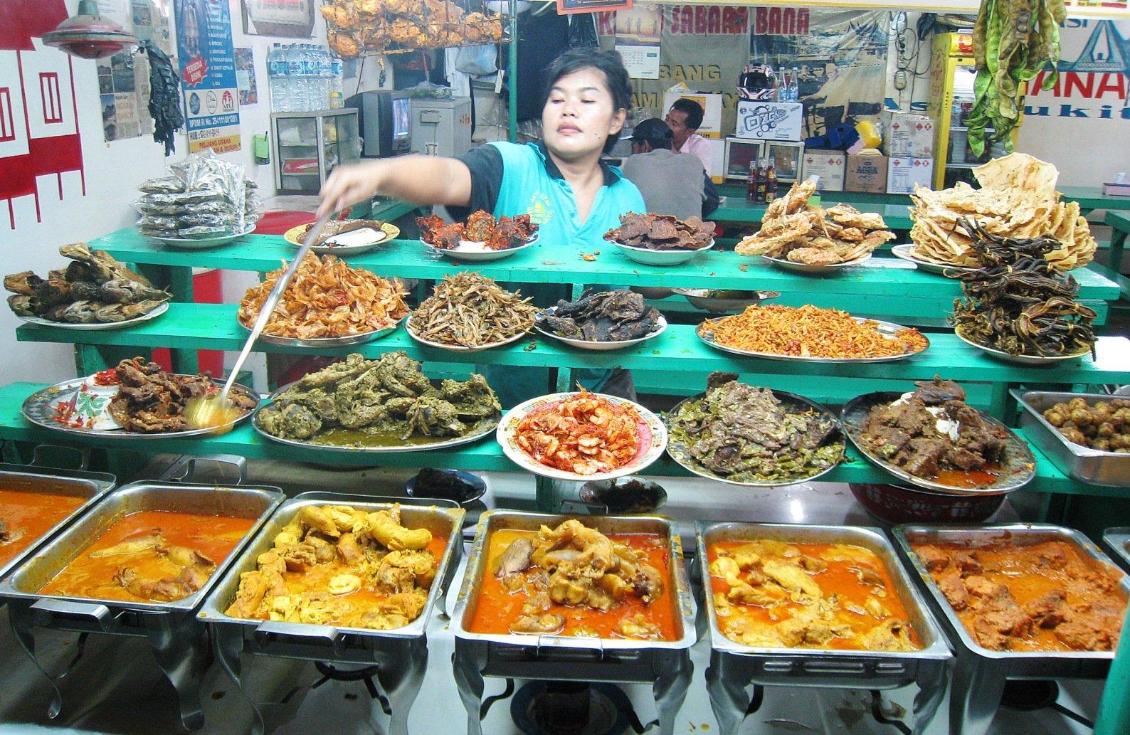 Padang - food