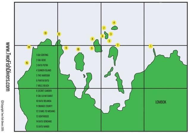 Lombok - Zuidelijke Gilis
