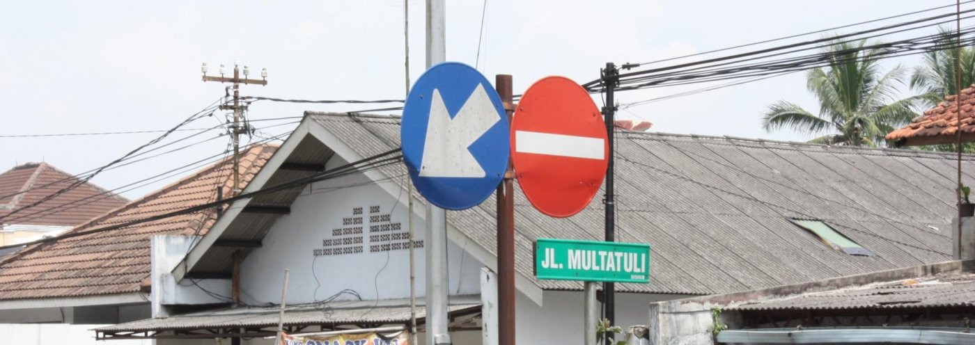 Java Multaltuli straat Rangkasbitung